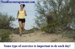 Exercise is so very important if you have a problem with overeating.