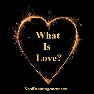 What is love mean to you?