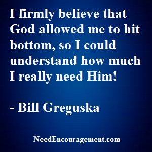 The Story/Testimony Of Bill Greguska...