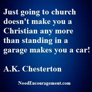 Does Church AttendanceGet You Into Heaven?
