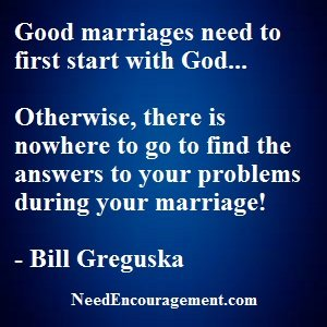 Want To Be In A Good Marriage?
