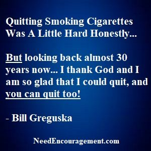 You Can Quit Smoking Cigarettes!