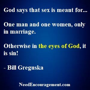 Sex In MarriageIs The Only Right Way!