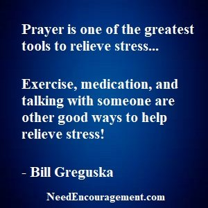 Deal With Stress... Deal with stress by the way you live your life and react to others and other things. Before Stress Deals With You!