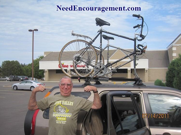 Brian Larson Bike Ride