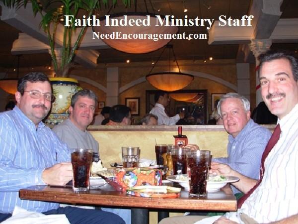Faith Indeed NeedEncouragement