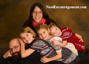 Lora Kesselhorn and family NeedEncouragement