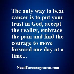 Are you in cancer recovery?