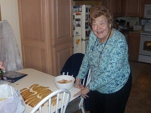 After my mom's death, it is hard to do things like making Italian BisquoteChristmas cookies that she and I did almost every year!