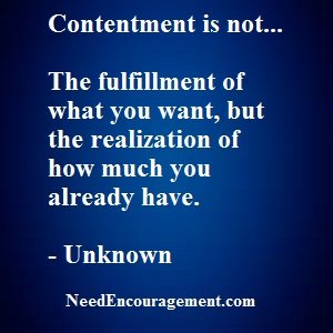 How To Find Contentment In Your Life?