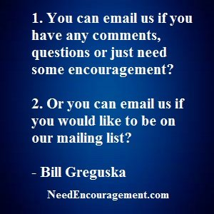 Join Our Weekly Email List!