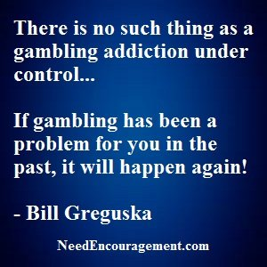 Do You Think You Have A Gambling Problem?