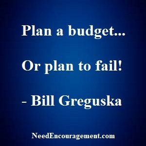 Plan A Budget If You Do Not Have One!