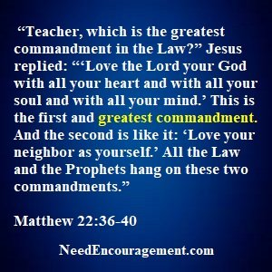 Ten Commandments Are To Protect Us!