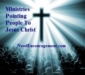 Ministries pointing people to Jesus Christ!