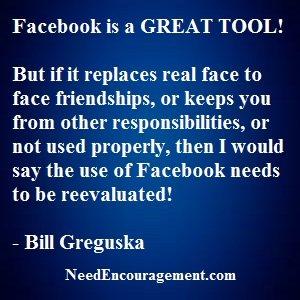 In General Facebook Is A Good Tool