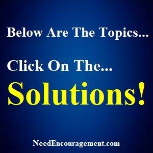 Topics For Encouragement!