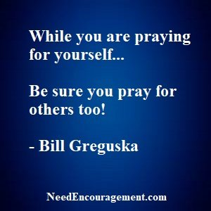 Are You Praying For Others?