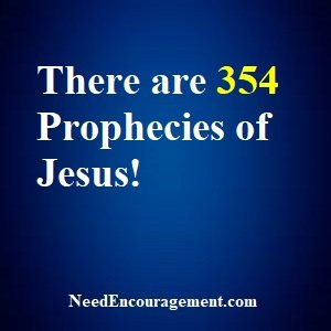 Prophecies Of Jesus Are Accurate!