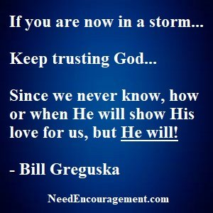 I'm Going To Keep Trusting God, You Too?