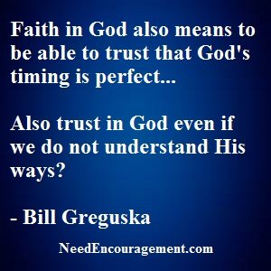 Do You Have Faith In God?