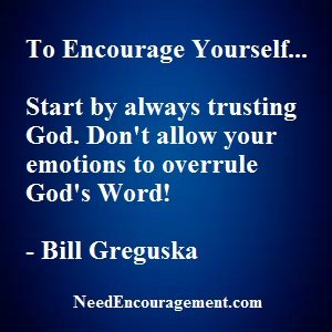 How Can You Encourage Yourself Each Day?