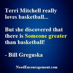 Terri Mitchell Great On And Off The Court!