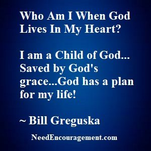 Who am I when Jesus Christ lives in me?