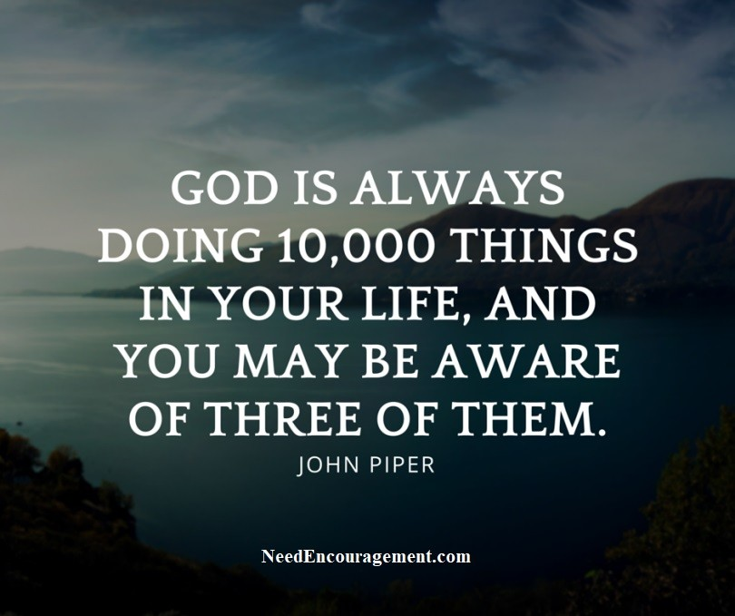Pastor John Piper and his teachings.
