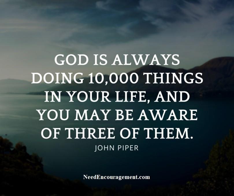 Pastor John Piper and his teachings.