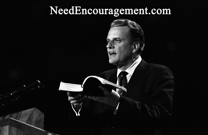 Pastor Billy Graham!