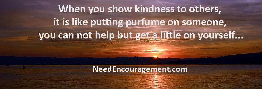 Acts of kindness are beautiful...