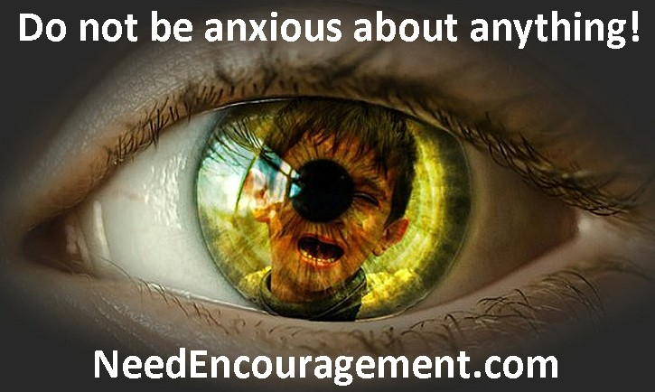 Anxiety must be put a side