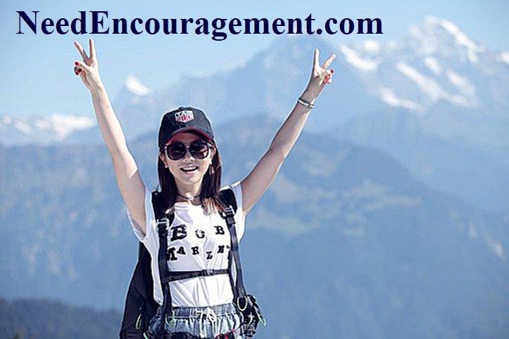 Find encouragement