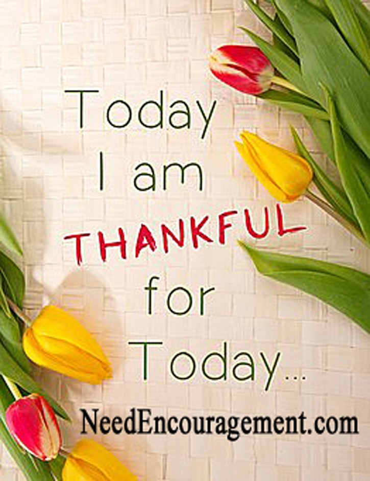 Gratitude makes a difference...