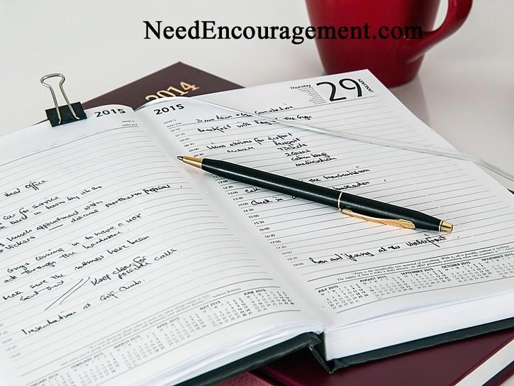 Calendar goals...