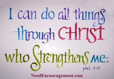 With Christ all things are possible!