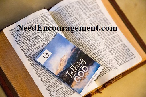 Talking with God in the Bible