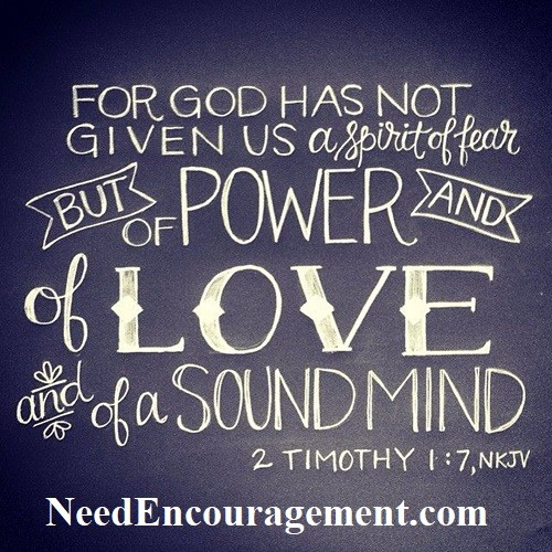The power of love, forgiveness, and encouragement!