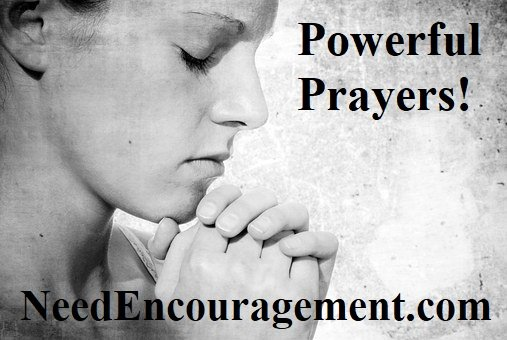 Practice powerful prayers!