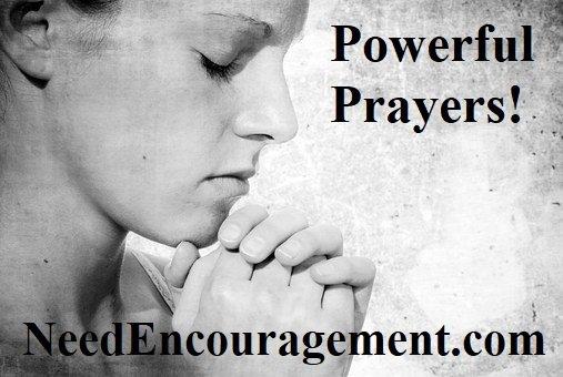 Practice powerful prayers!