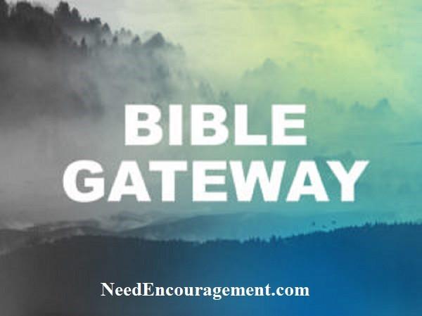 Visit Biblegateway.com