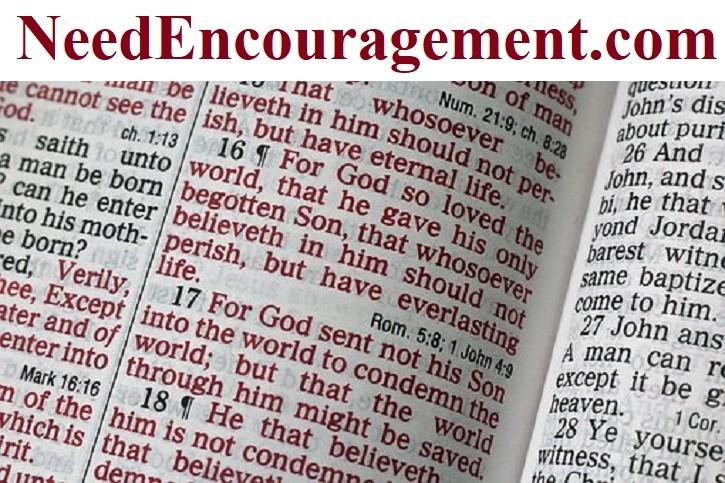 Encouraging scriptures!