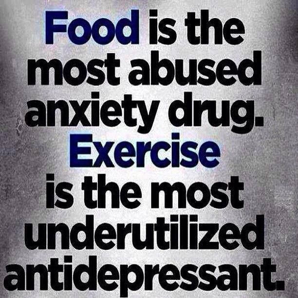 Food is the most abused anxiety drug!