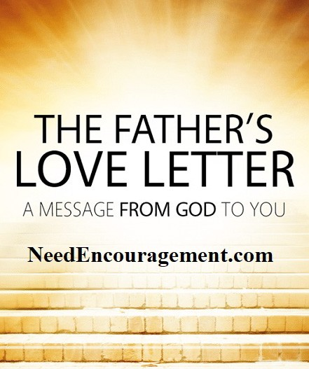 FathersLoveLetter.com is a beautiful letter from God to us.