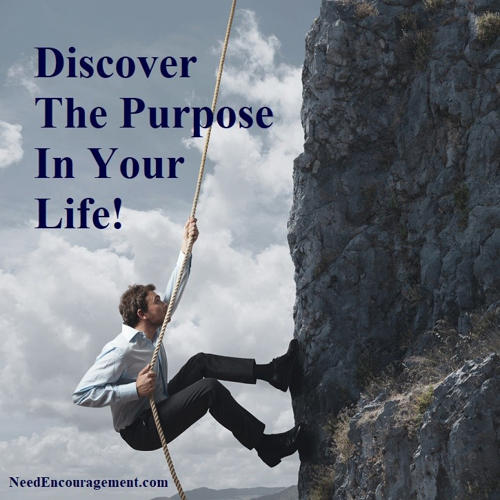 Discover the purpose in your life through encouragement!