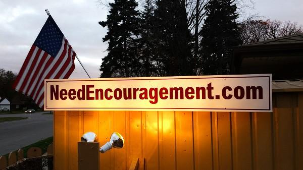 Need Encouragement