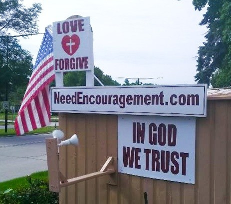 Love, forgiveness, encouragement!
