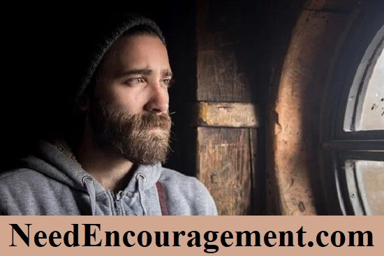 Discouragement can weigh heavy