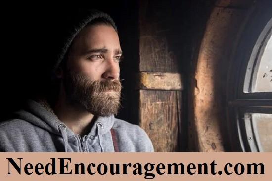 Discouragement can weigh heavy